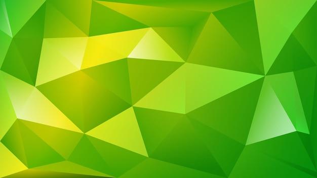 白と灰色の多くの三角形の抽象的な多角形の背景