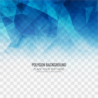 Abstract polygonal background template