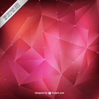 Abstract polygons background