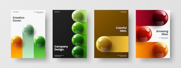 Абстрактный плакат a4 дизайн вектор концепции композиции