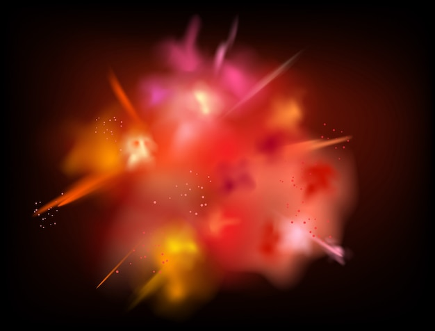 Abstract powder splatted vector background