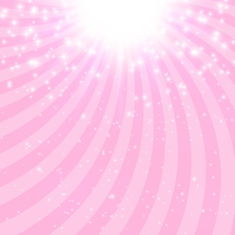 Abstract princess shiny star background vector illustration. eps10