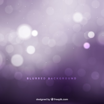Abstract purple background with bokeh effect