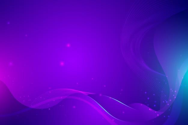 액체와 액체 스타일 추상 보라색 배경 프리미엄 벡터