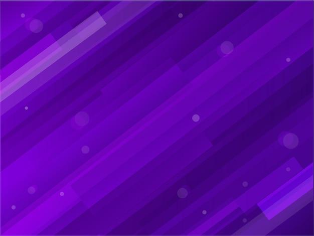 抽象的な紫色のダイナミックラインの背景。