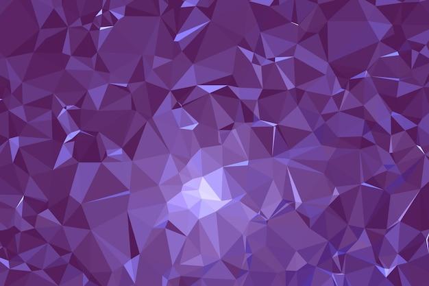 Абстрактная фиолетовая геометрическая многоугольная молекула фона и коммуникации. понятие о науке, химии, биологии, медицине, технике.