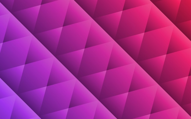 Abstract purple geometric shapes background