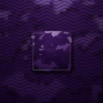 Abstract purple and gold luxury halloween concept background