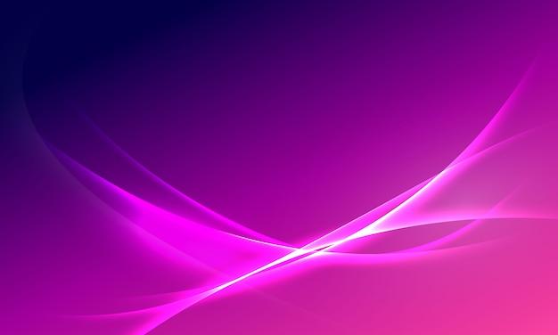 抽象的な紫グラデーション背景エコロジーコンセプト、グラフィックデザイン、光の効果の輝く。ネオンの輝きとフラッシュの背景。