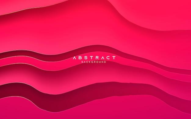Abstract purple gradient color elegant wavy background