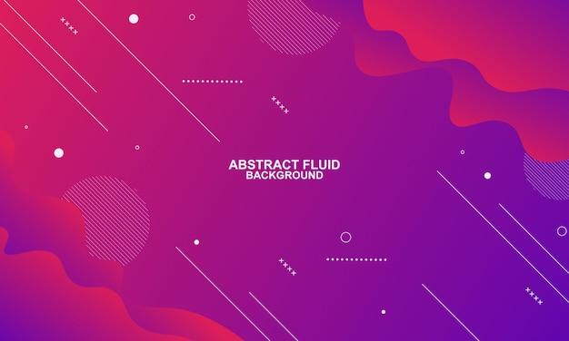 Абстрактный фиолетовый градиент жидкости жидкий фон. векторная иллюстрация.