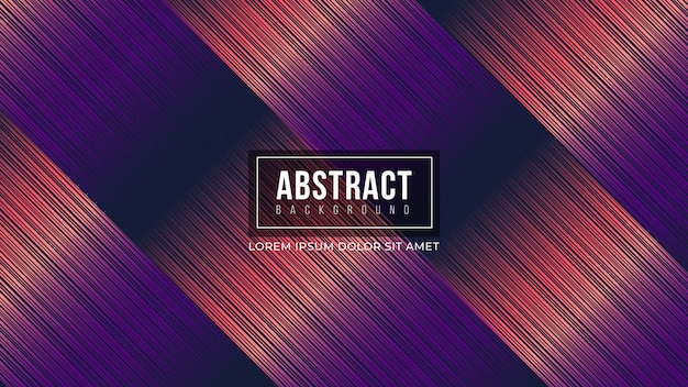 Abstract purple gradient lines background