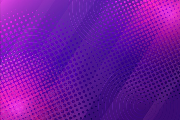 Abstract purple halftone background
