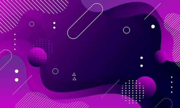 Абстрактный фиолетовый жидкий цветной фон
