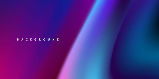 Абстрактная фиолетовая жидкая концепция градиента фона для вашего графического дизайна,
