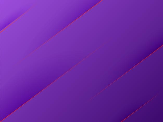 Абстрактный фиолетовый современный бумажный стиль фона