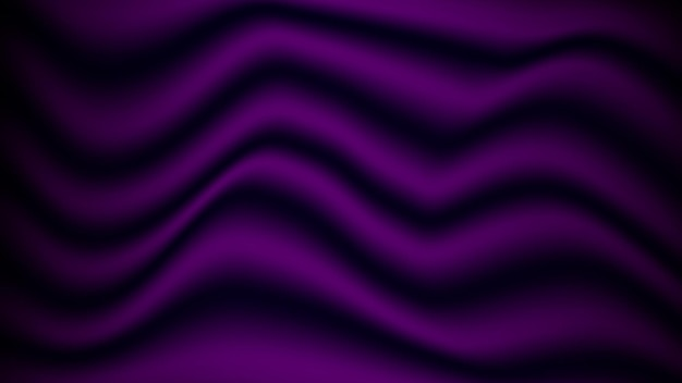 Abstract purple soft satin fabric texture background for decorative graphic design