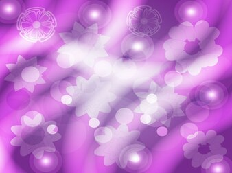 Abstract purple tonal floral background