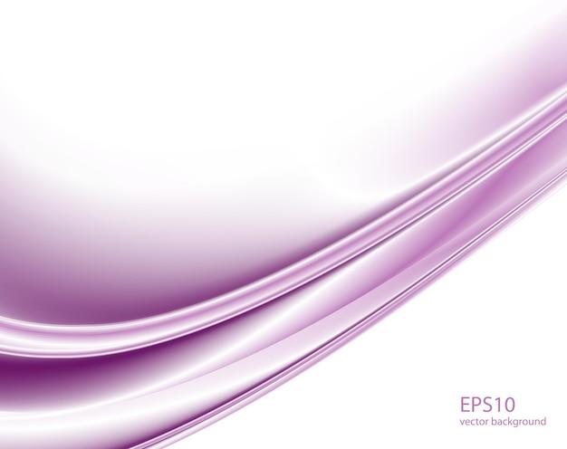 抽象的な紫色の波の背景。