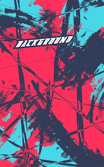 Abstract racing background with grunge texture