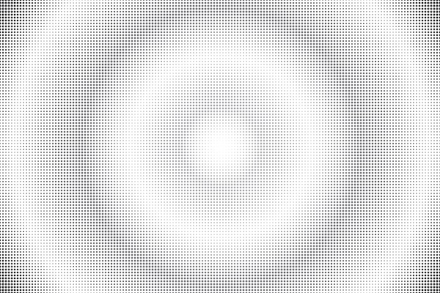 Abstract radial black dotted background