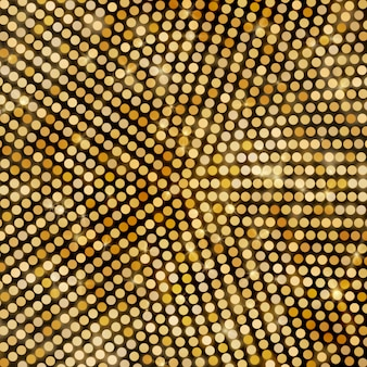 Abstract radial  glittering background