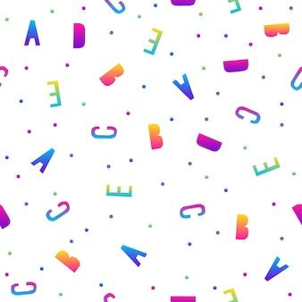 Абстрактный фон радуги бесшовные модели. современная футуристическая иллюстрация для поздравительной открытки, приглашения на вечеринку, обоев, праздничной упаковочной бумаги, ткани, принта на сумке, футболки, рекламы мастерской.