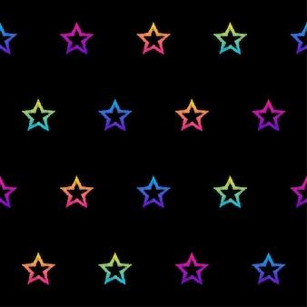 Абстрактная радуга бесшовные модели. современный образец фона для поздравительной открытки, приглашения на детскую вечеринку, обоев, праздничной оберточной бумаги, плаката продажи магазина, печати на сумке, футболки, рекламы мастерской