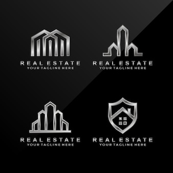 Abstract real estate logo