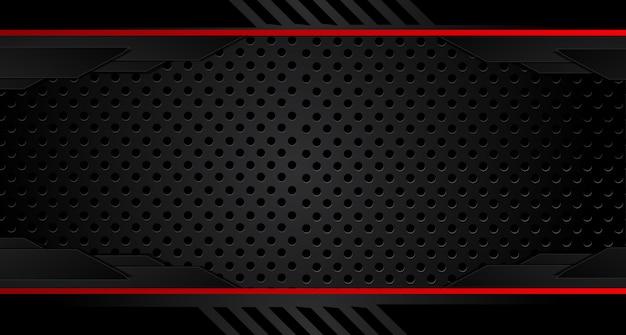 濃い灰色の背景に抽象的な赤い矢印