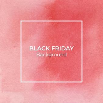 Абстрактный красный blackfriday акварель текстуры фона