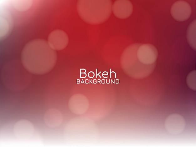 Priorità bassa astratta del bokeh di colore rosso