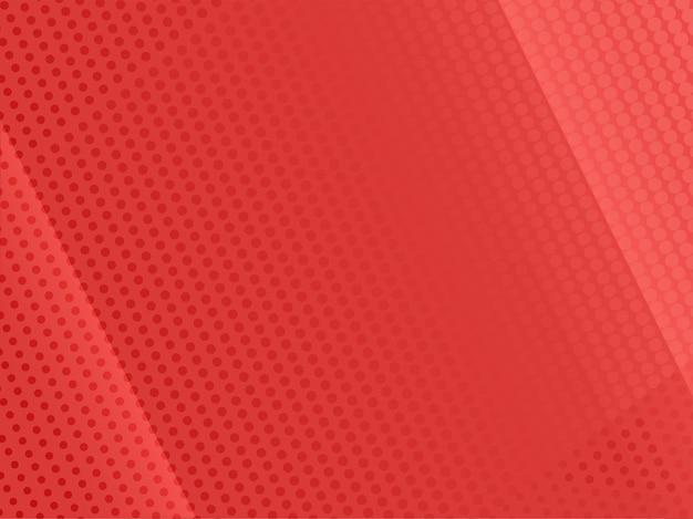 抽象的な赤い点線のパターンの背景。