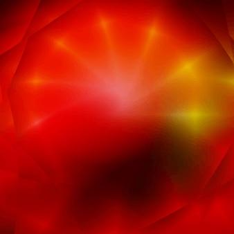 초록 빨강 프랙탈 배경