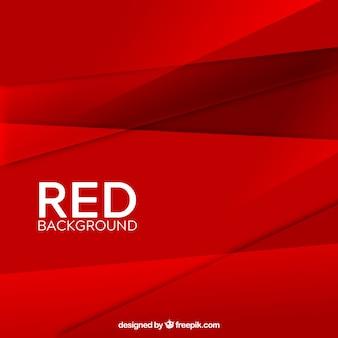 추상 붉은 기하학적 배경