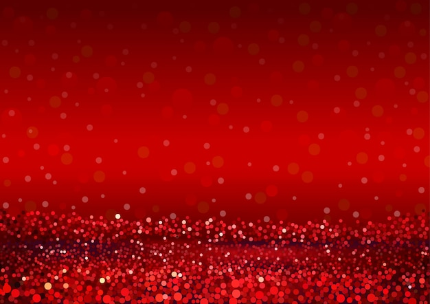 Abstract red glitter background