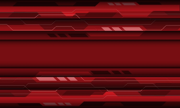 Abstract red grey cyber geometric technology design modern futuristic background