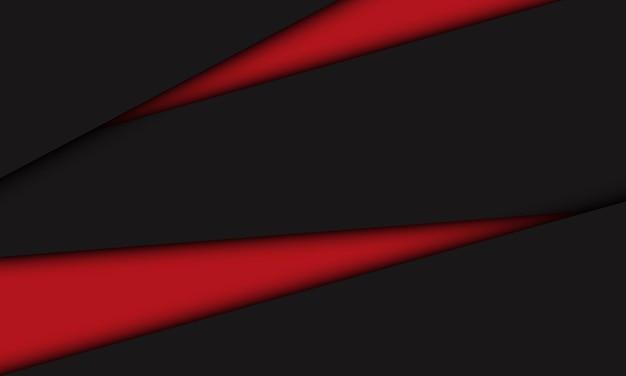 抽象的な赤灰色の三角形のオーバーラップ幾何学デザイン現代の未来的な技術