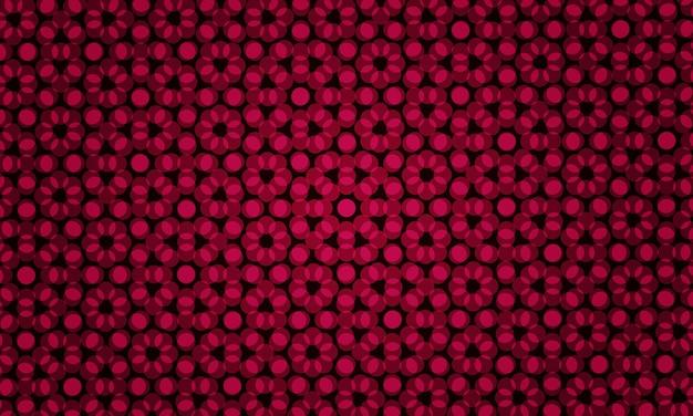 自然なスタイルの色の泡と抽象的な赤いイラスト。未来的な広告、小冊子のパターン。