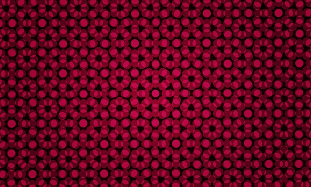 Abstract red illustration with colored bubbles in nature style. pattern for futuristic ad, booklets.