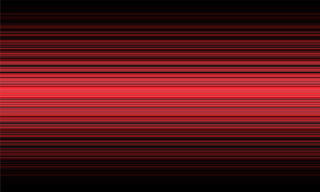 Abstract red line speed dynamic light on black technology background