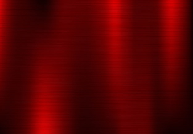 Abstract red metallic background.