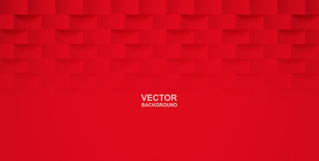 Abstract. red square geometric background.