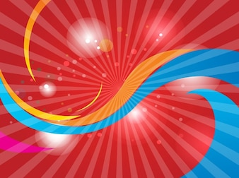 Abstract red swoosh cool backgrounds