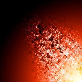 추상 빨간색 기술 배경입니다. 벡터 디자인