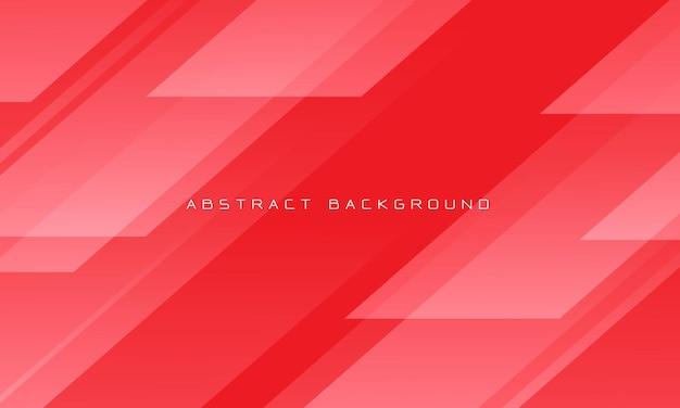 抽象的な赤いトーンの幾何学的な現代の未来的な背景