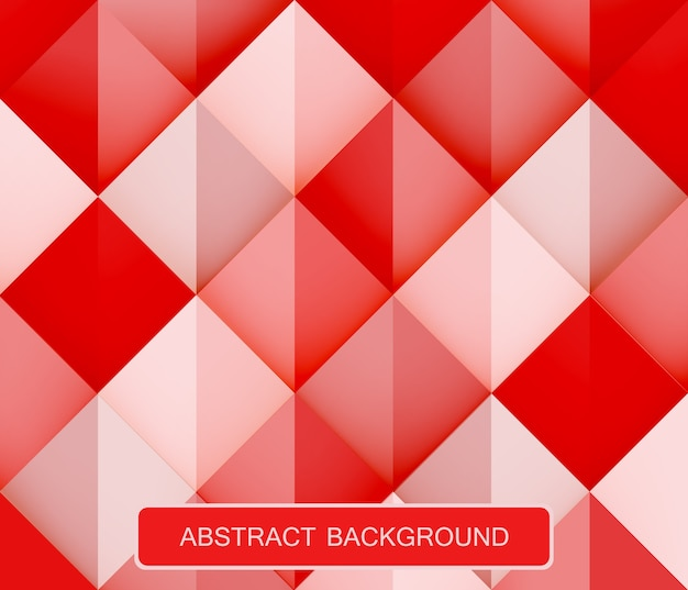 抽象的な赤い三角形の背景