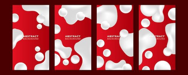 現代の企業コンセプトで設定された抽象的な赤いベクトルの背景