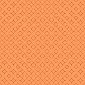 抽象的な繰り返しの丸い四角い格子パターンの背景デザイン - ベクトル設計