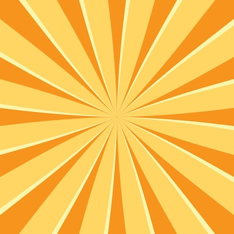 Abstract retro background with sun ray. summer vector illustration for design